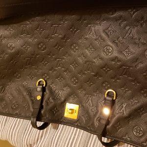 LV monogram like new large black shoulder bag